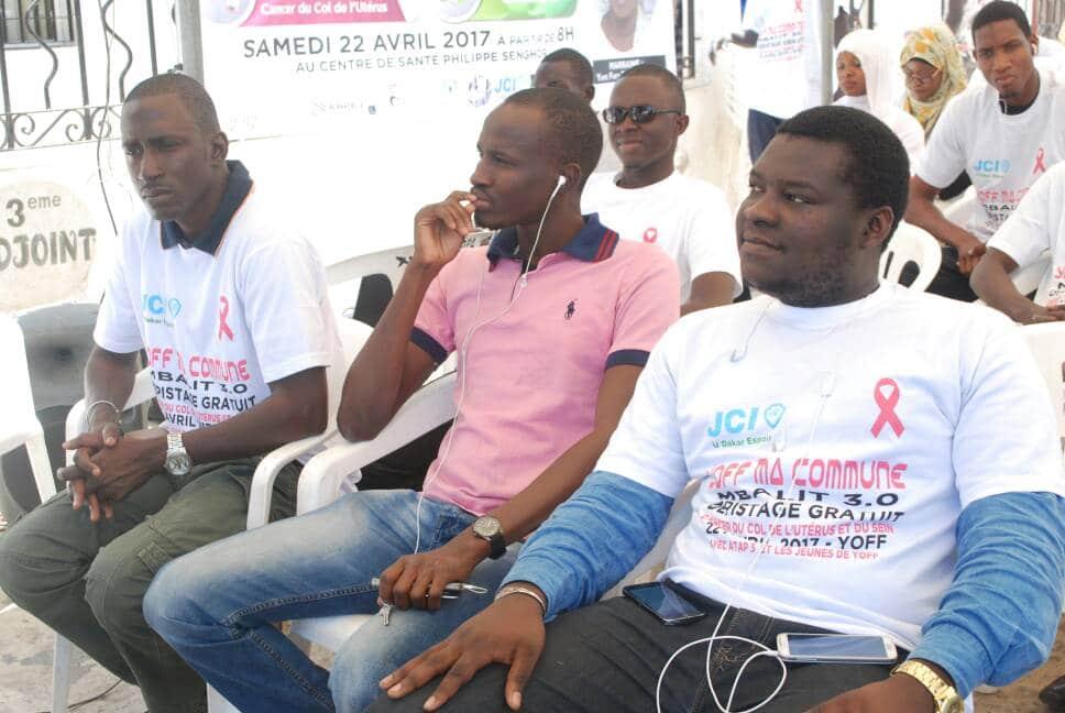 JCI U Dakar espoir opération Yoff Ma commune