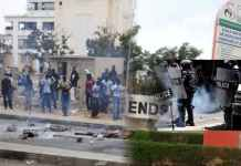 Grèves étudiants ENDSS