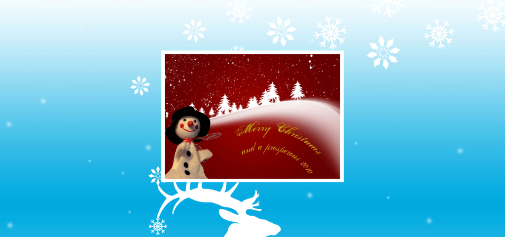 Wishing you a very merry Christmas and a successful 2010