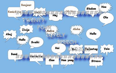 24 Lovely Speech Bubbles