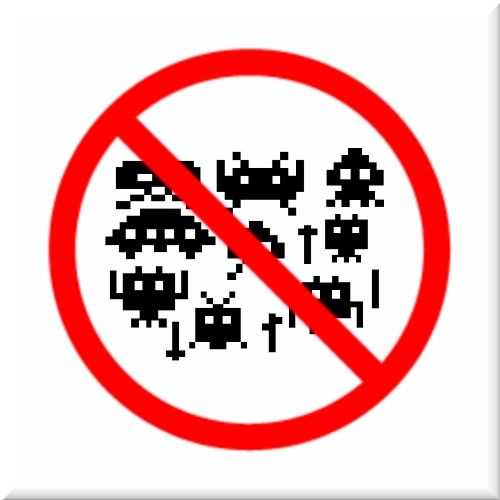 Warning: bugs in the system - those damn there critters!