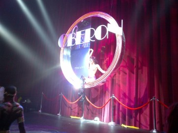 Donkey Show at Adrienne Arsht Center, Miami - Dancer in the Light