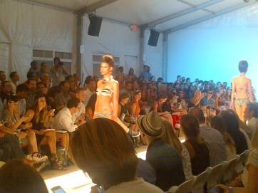 Fashion Walk at Mercedes Benz Fashion Week Miami