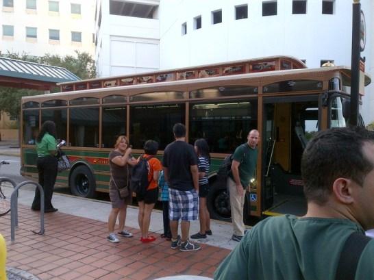 Free Travel on the Trolly, Miami