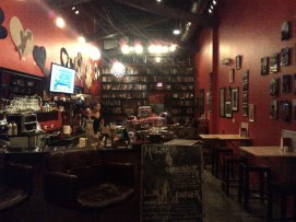 Mo Loko Cafe Bar and Free Library, Design District, Miami