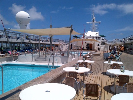 Pre Sea Tweet Up on the Norwegian Sky Cruise Ship