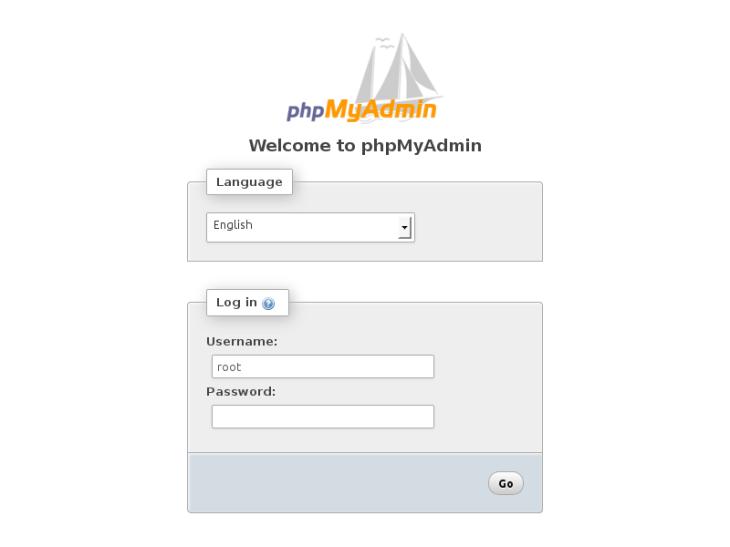 Log into phpMyAdmin