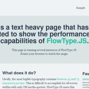 Responsive Font Sizing for WordPress
