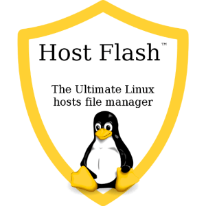 Host Flash: User Friendly Linux Hosts File Manager