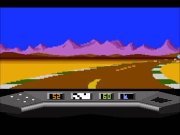Electra Glide on Atari 800