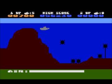 Sea Dragon on Atari 800