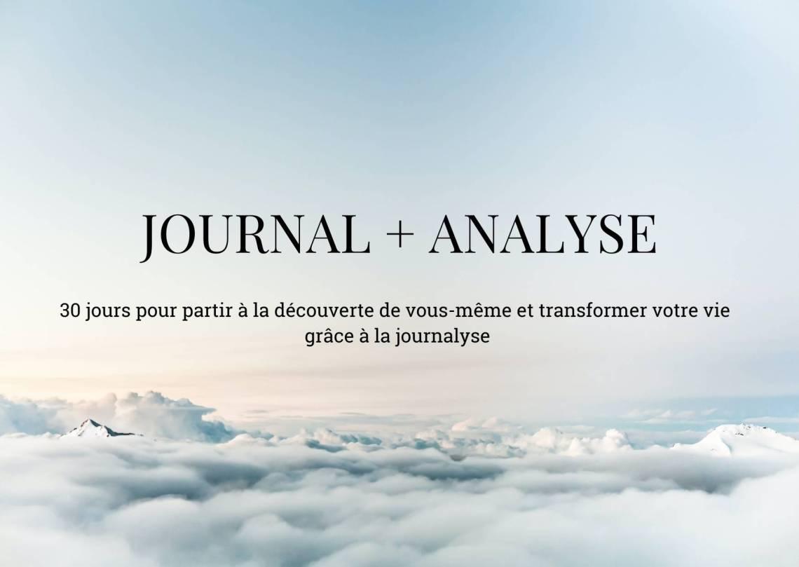 Journal + Analyse