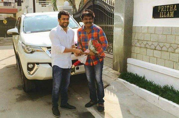 Actor Suriya Net Worth