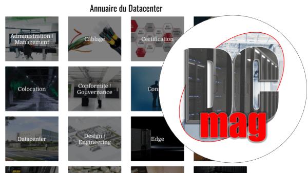 Annuaire du Datacenter : une nouvelle version pour Datacenter Magazine