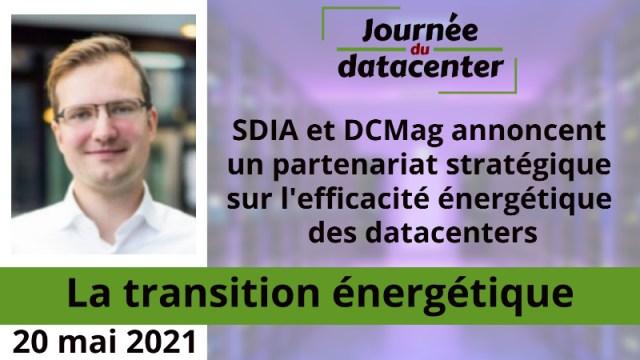 SDIA et Datacenter Magazine annoncent un partenariat stratégique sur l'efficacité énergétique des datacenters