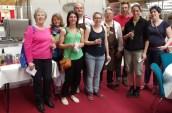 Les concurrents du concours des Cordon Bleu amateur du Trophée Lacanche