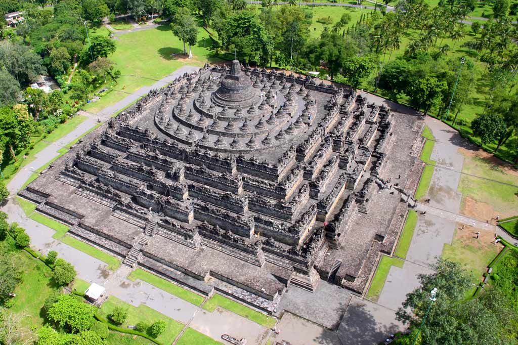 Borobudur. Java. Indonesia