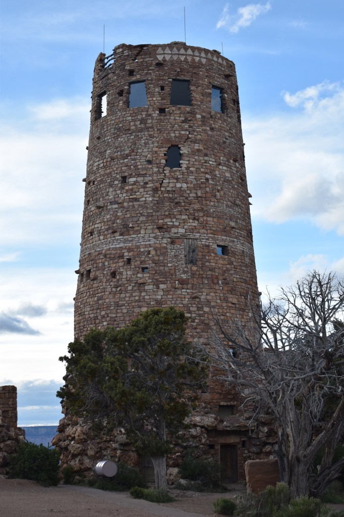 Watch-Tower-at-Desert-View-for-blog-682x1024 Grand Canyon National Park: Grand in every way - depth, length, temperature extremes and crowds