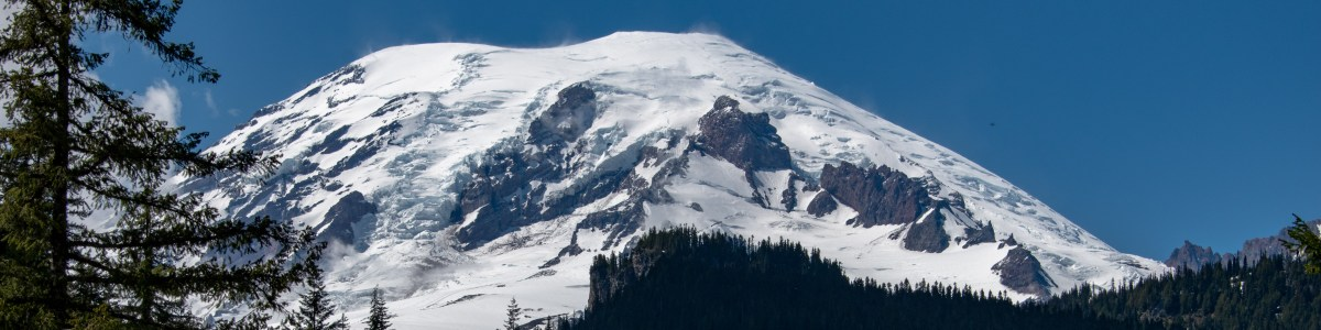 Mount Rainier National Park: Peaks, Falls, and Trees