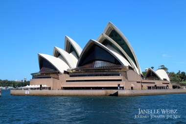 Sydney Opera House from the front!