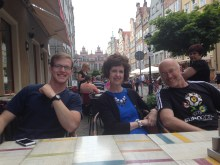 Spent the day in Gdansk with these awesome people.