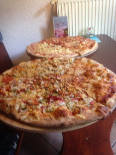 Awesome pizza!