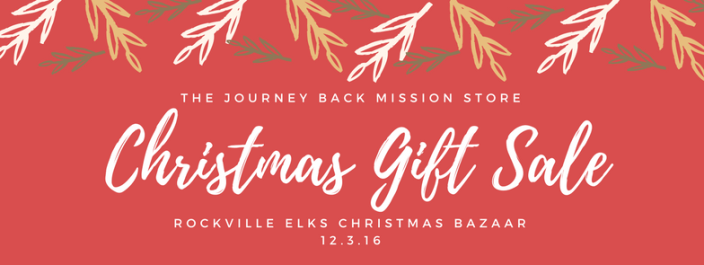 Christmas Gift Sale – December 3 « The Journey Back