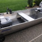 Journey Jon Boat - Rubber Floor Mat Installed
