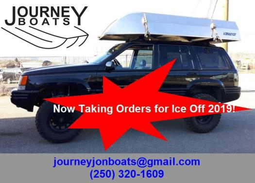 Journey Boats Spring 2019 Ice Off Order Now Promo