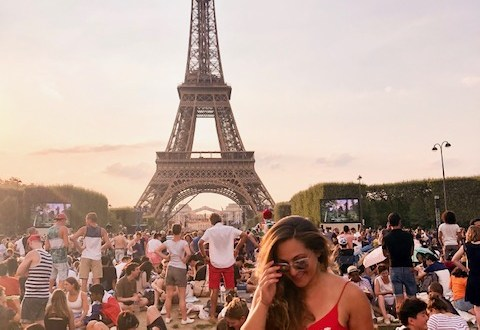 Bastille day, Eiffel Tower