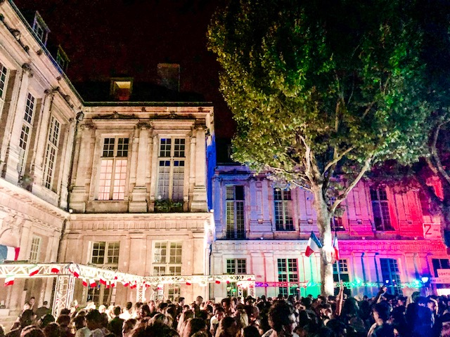 Bal des Pompiers on Bastille Day