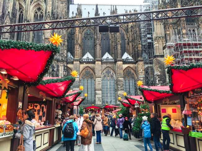 Cologne Cathedral Market