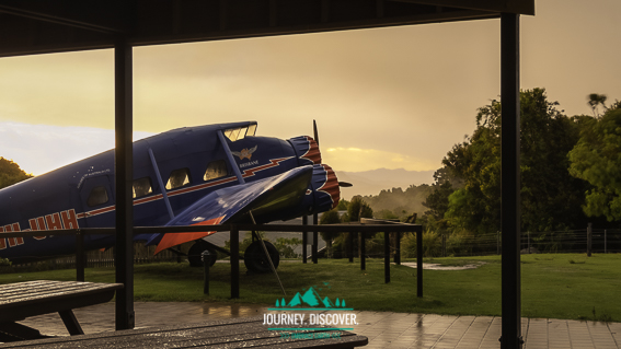 Stinson Replica, Lamington National Park