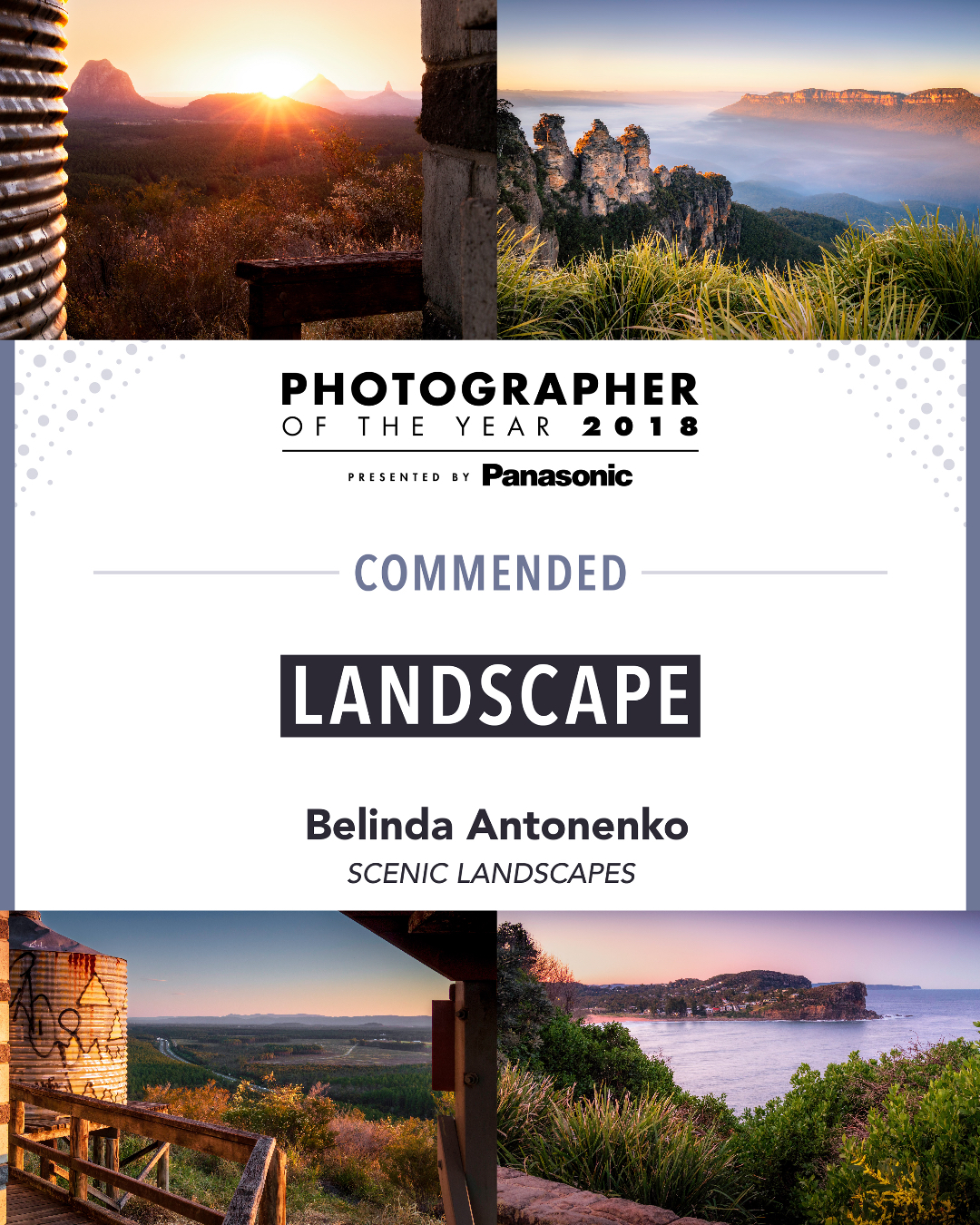 Photographer Of The Year Award - Scenic Landscapes