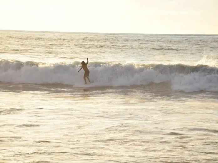 Surfing near PV