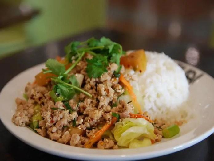 Larb Thai Dish