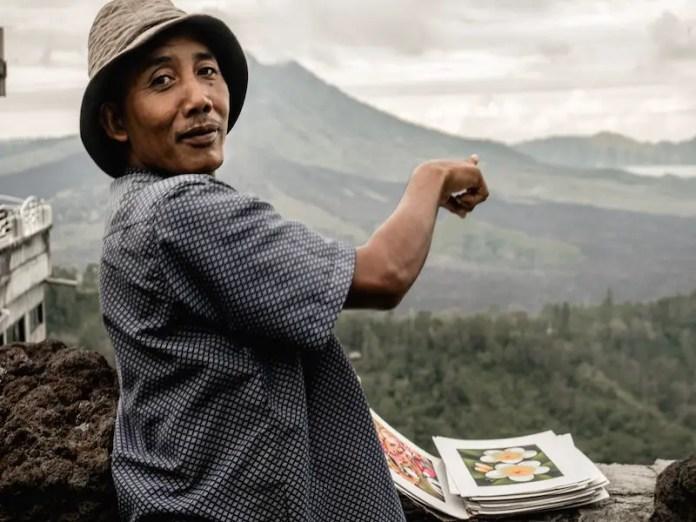 Indonesian man
