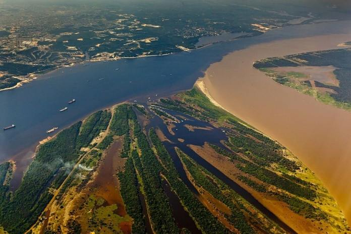 Meeting of Waters - worth visiting Manaus for