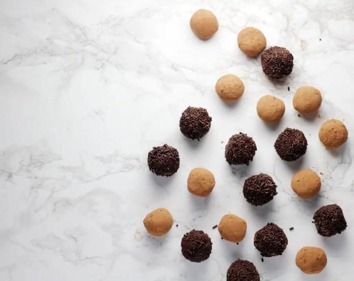 Brigadeiro truffles