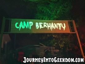 The Entry to Camp Berhantu