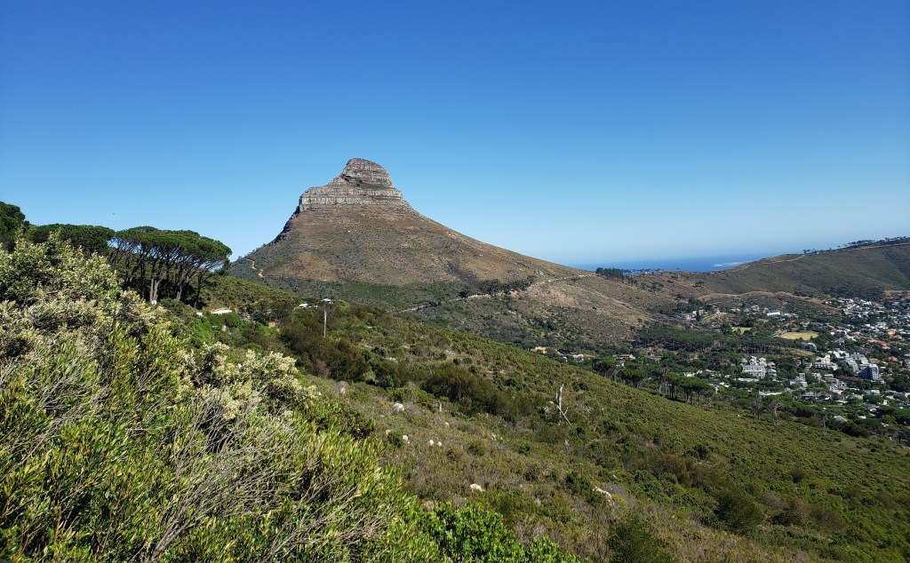 Lion's Head mountain as seen from Table Mountain