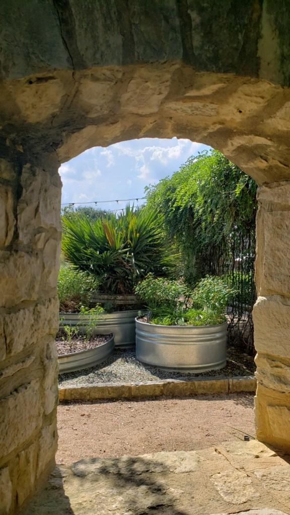 Themed garden at Lady Bird Johnson Wildflower Center