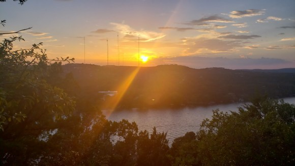 Sunset at Mount Bonnell