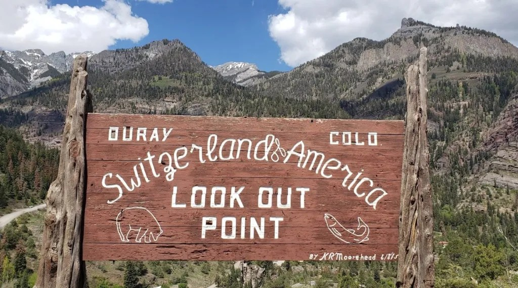 Switzerland of America lookout point