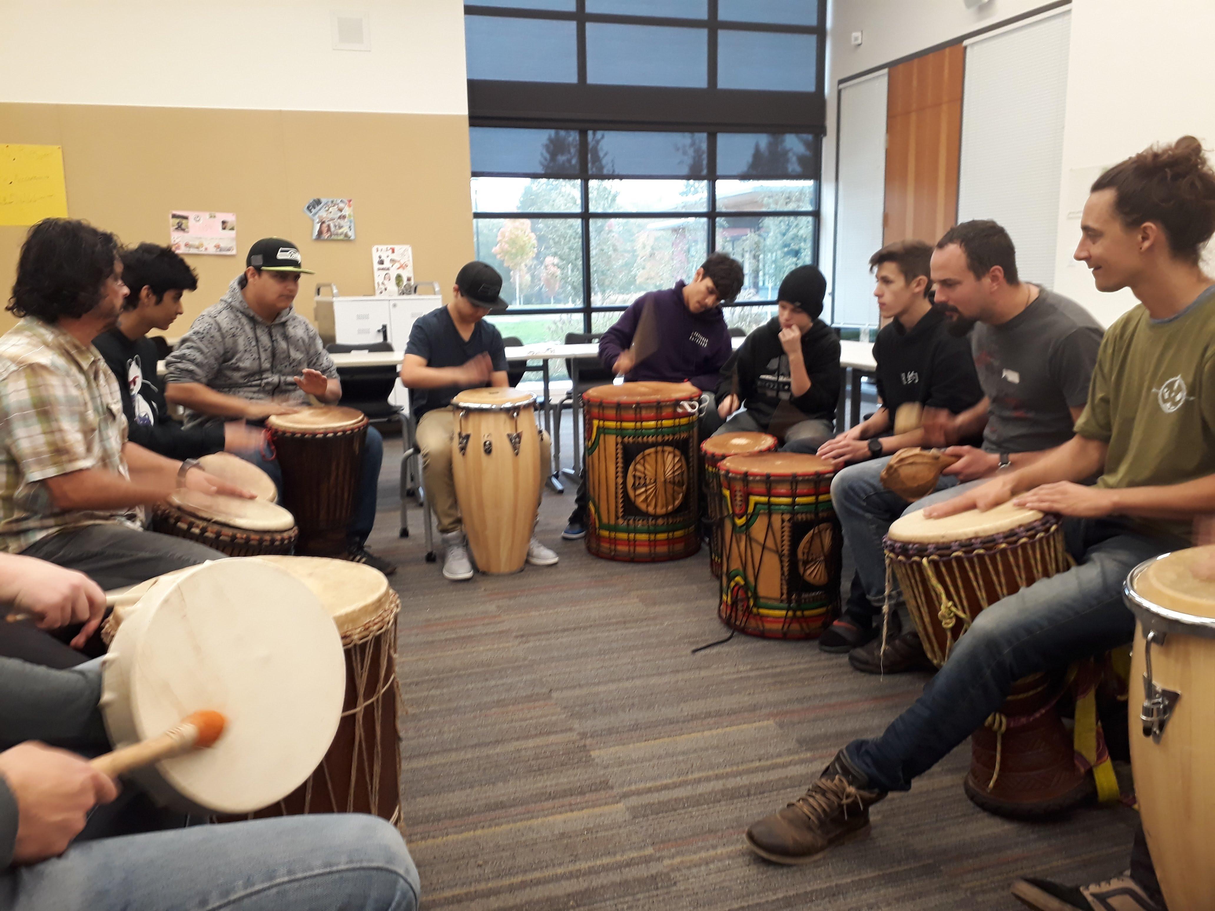 Journeymen CIRCLES - Drumming