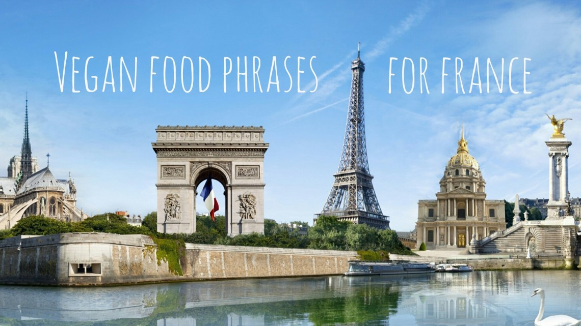 Essential phrases for vegans visiting France