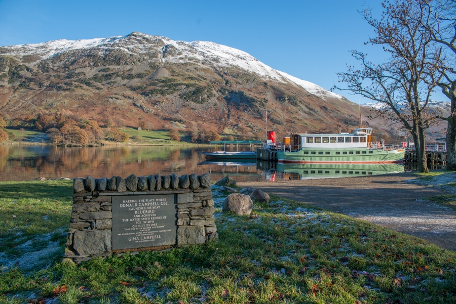 All aboard the Ullswater Steamer