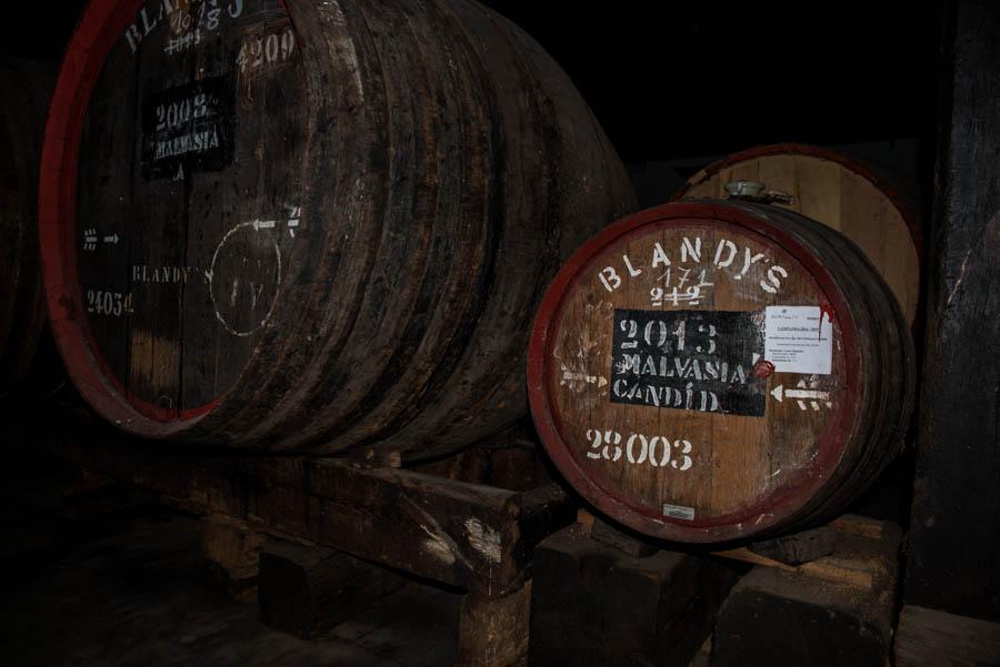 Blandy's wine