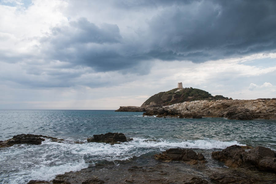 The rain never bothered us anyway… Chia, Sardinia