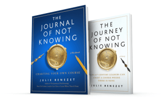 Journey of Not Knowing book covers